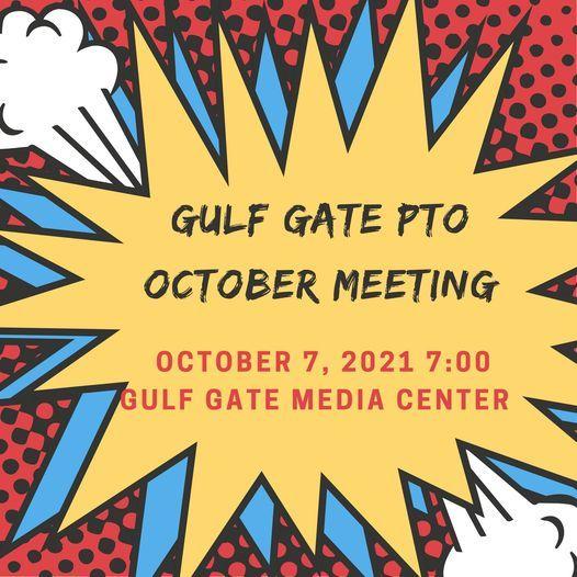 October PTO Meeting