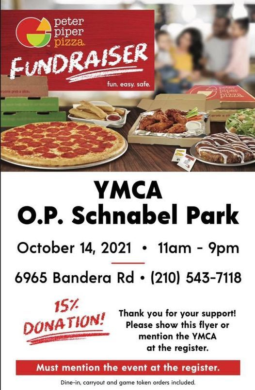 YMCA Night at Peter Piper Pizza