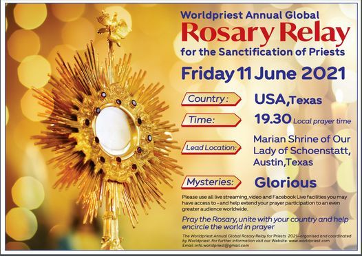 Worldwide Global Rosary Relay