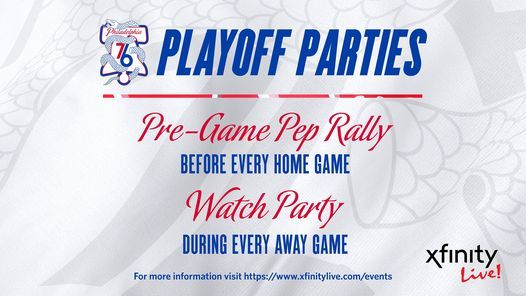 Sixers Playoffs Watch Party