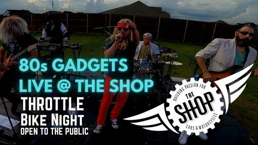 80s Gadgets LIVE at Bike Night @ THE SHOP