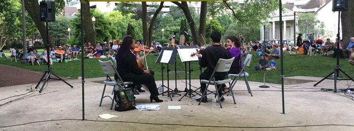 Grant Park Music Festival Quartet performs at Chicago Women's Park & Gardens - Project Inclusion
