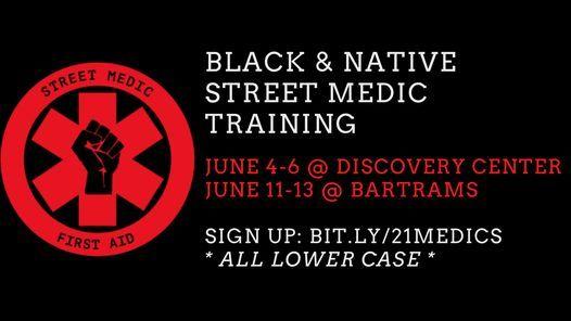 Black & Native Street Medic Training