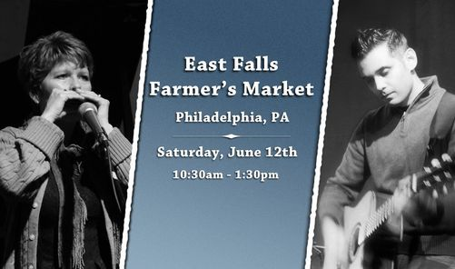 Diane & Vik at East Falls Farmer\u2019s Market