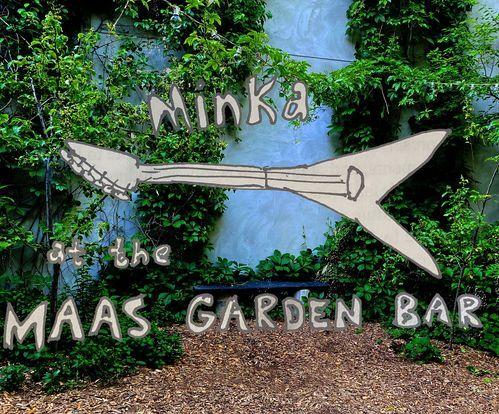 Minka @ the MAAS Garden Bar