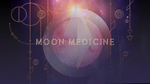 Moon Medicine - Full Moon in Aquarius Celebration