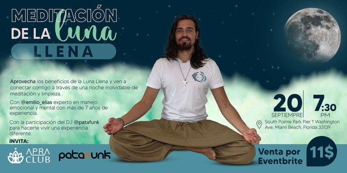 Meditaci\u00f3n de la luna llena