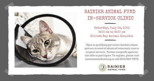 Rainier Animal Fund In-Service Clinic