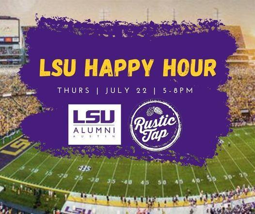 LSU Austin Summer Happy Hour