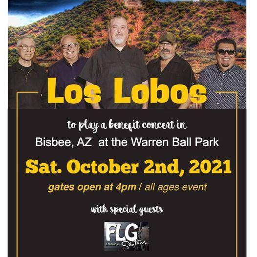Los Lobos at Warren Ball Park