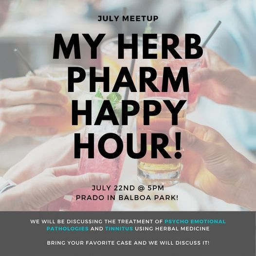 Happy Hour with My Herbal Pharmacy!