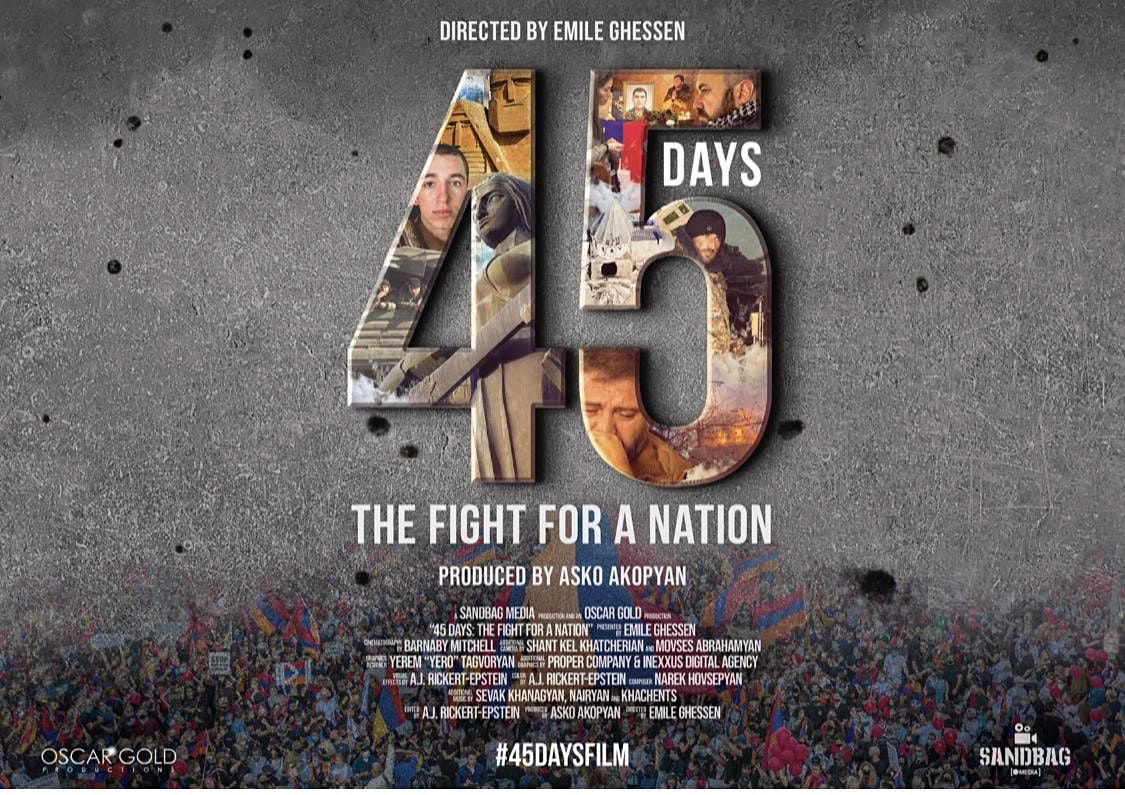 45 Days: The Fight for a Nation [ Screening in New York City]