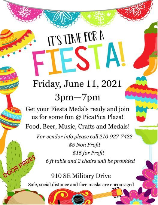 It's Time for Fiesta!