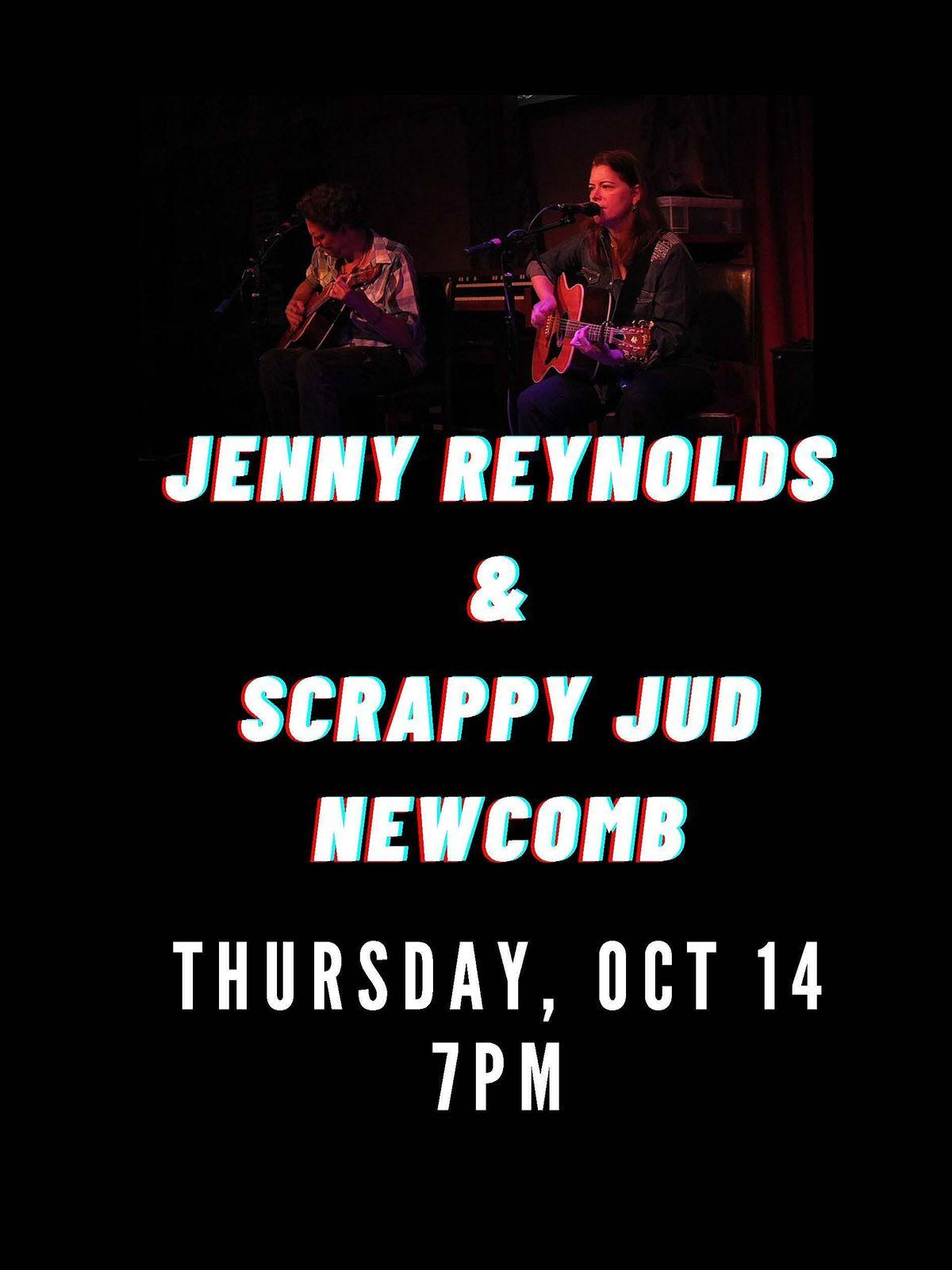 Jenny Reynolds with Scrappy Jud Newcomb