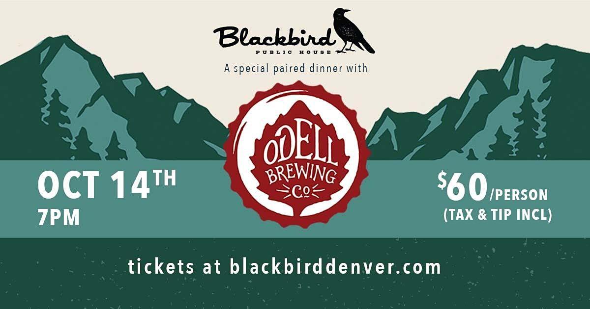 Odell Beer Dinner October 14th - Blackbird Public House