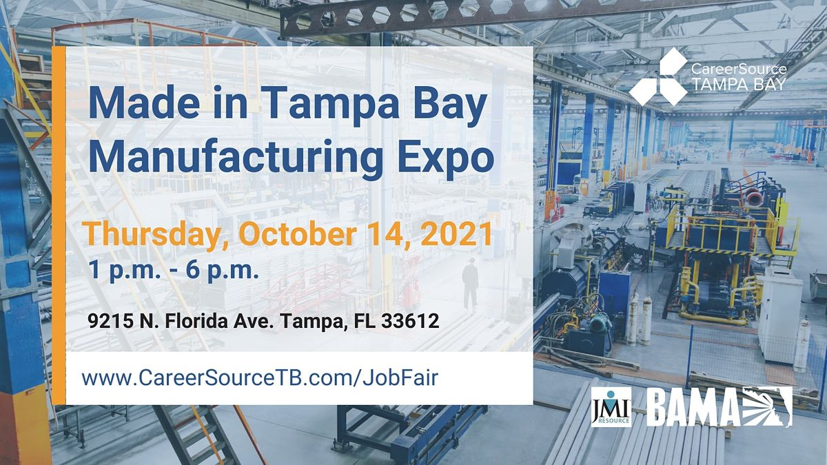 Made in Tampa Bay Manufacturing Expo