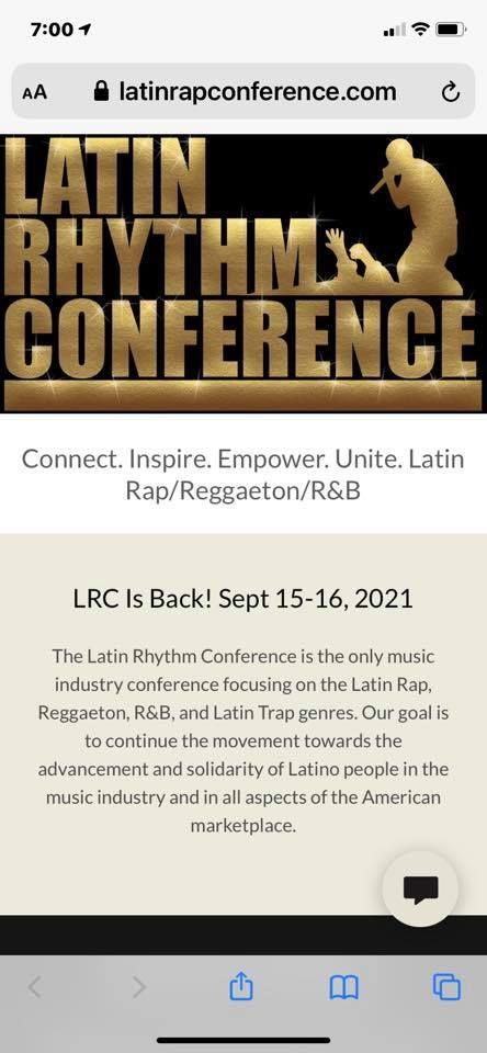 Latin Rhythm Conference
