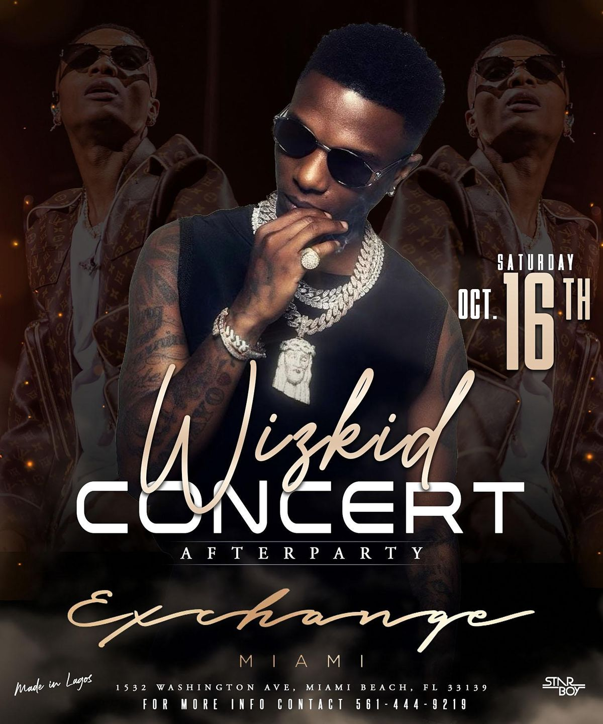 Wizkid's  Official Concert Afterparty in Miami