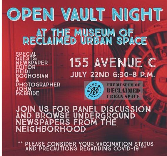 Open Vault Night