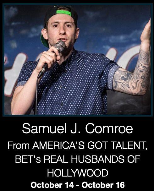 DC Comedy Loft presents Sam Comroe from America's Got Talent