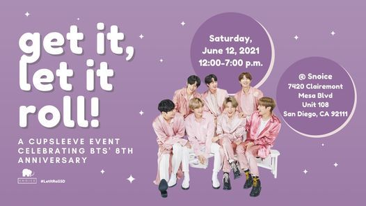 Get It, Let It Roll! Celebrating BTS' 8th Anniversary