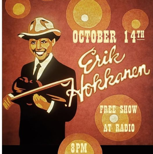 ERIK HOKKANEN & the HIP REPLACEMENTS (OUTDOOR SHOW)