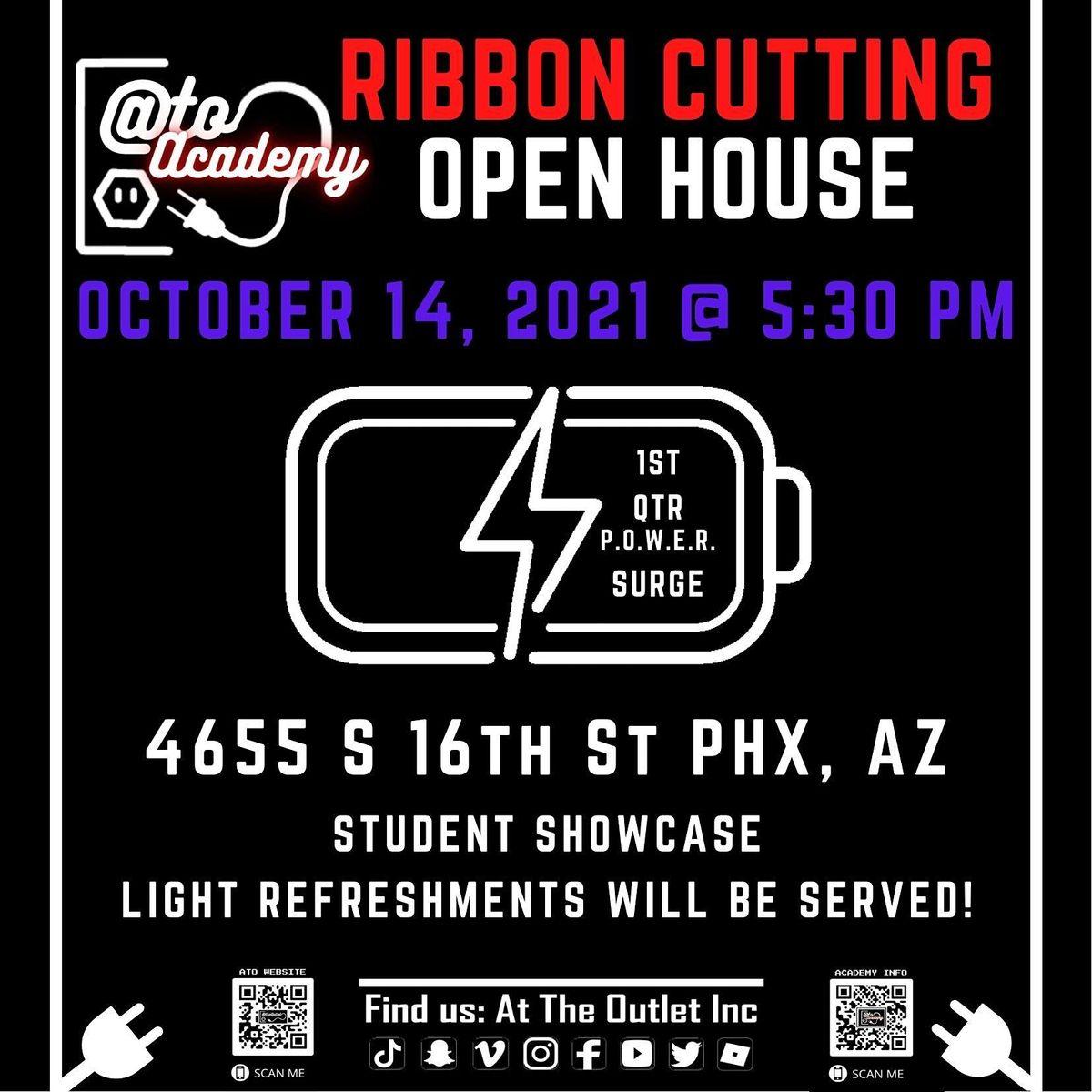 Ribbon Cutting Open House - 1st Quarter P.O.W.E.R. Surge
