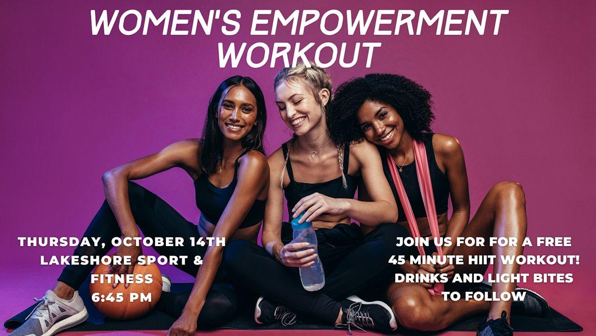 Women's Empowerment Workout | 10.14.21