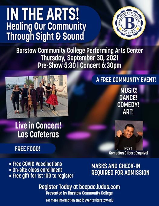In the Arts! Healing Our Community Through Sight & Sound