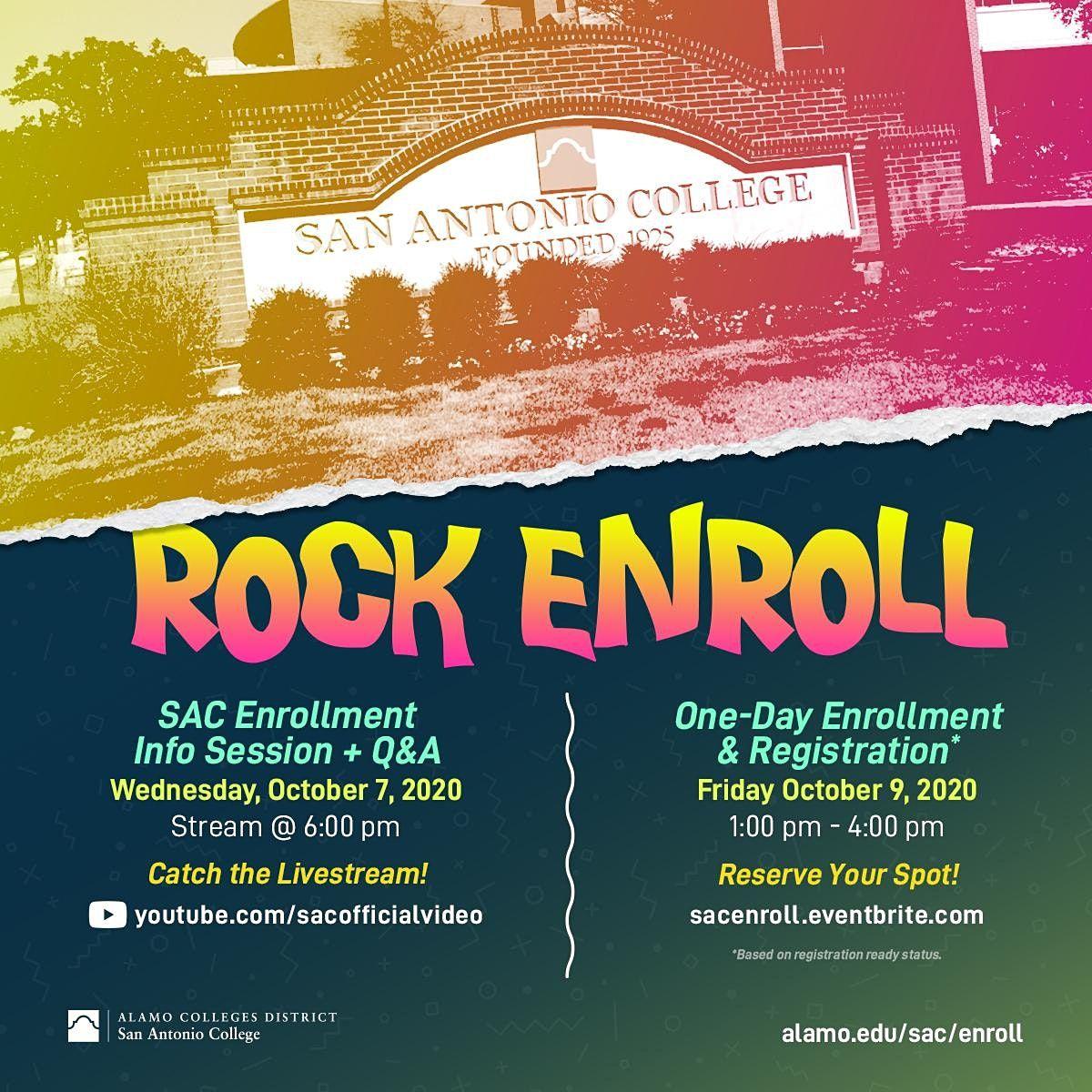 San Antonio College VIRTUAL & ON CAMPUS RALLY