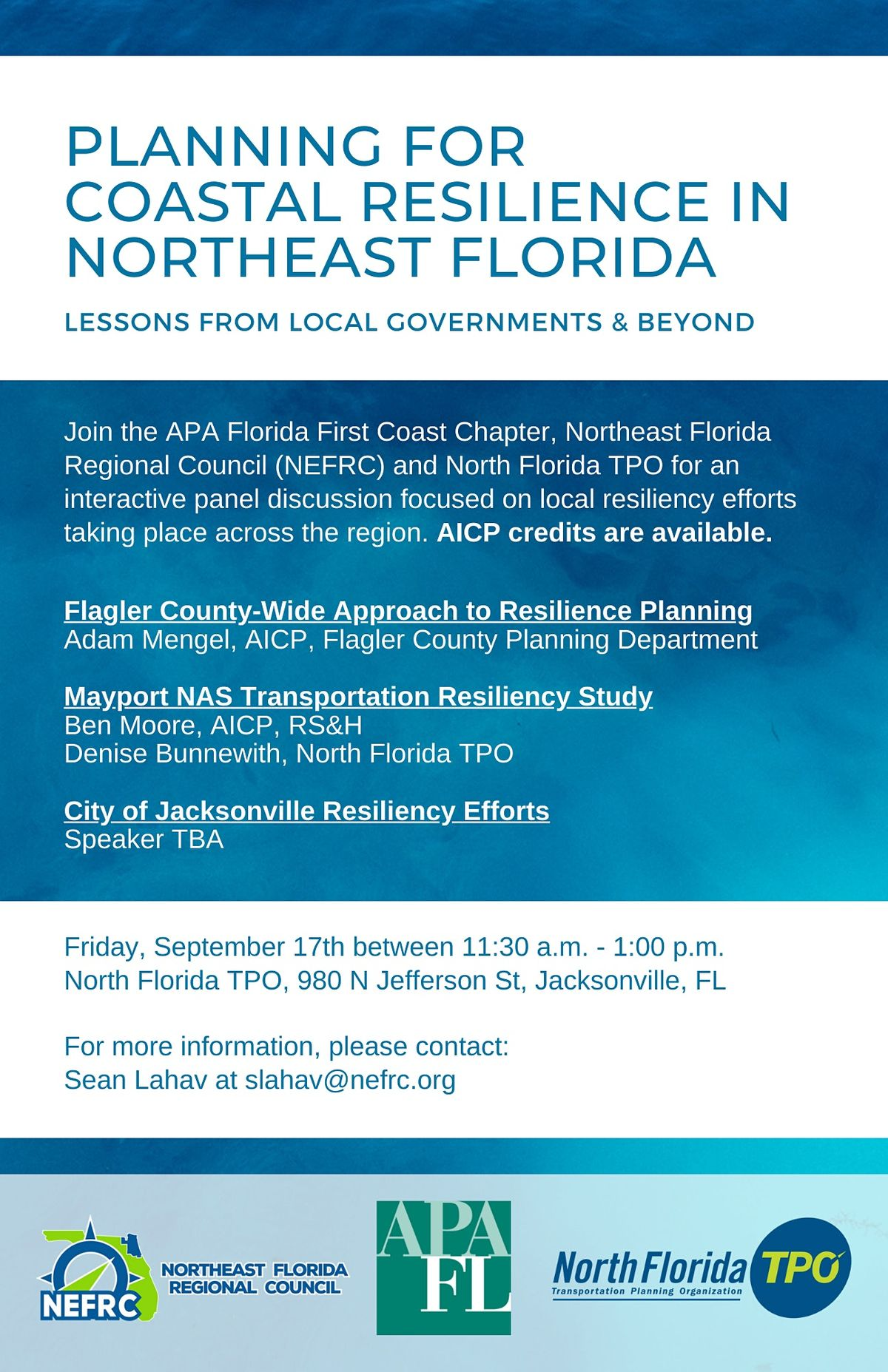 Planning For Coast Resilience in Northeast Florida