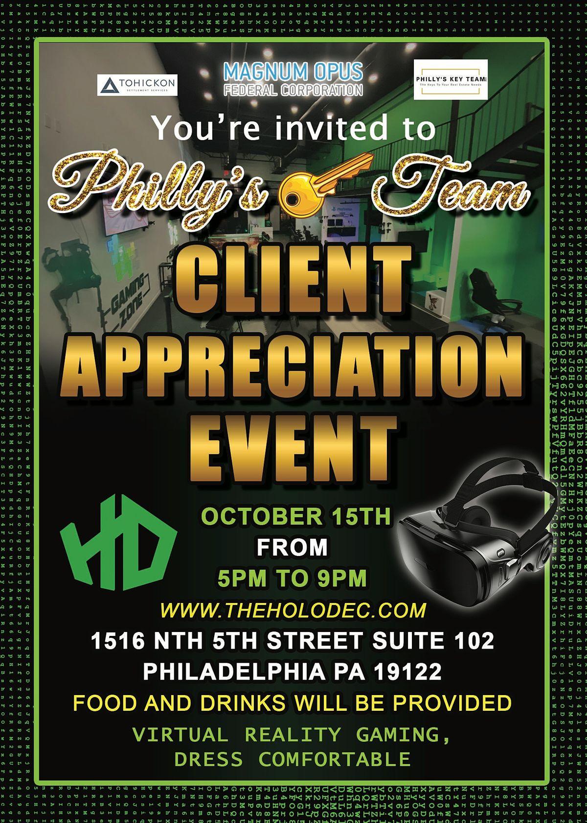 PKT Client Appreciation Event