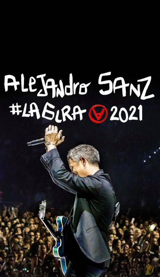 Alejandro Sanz - Orlando, FL - #LaGiraUSA