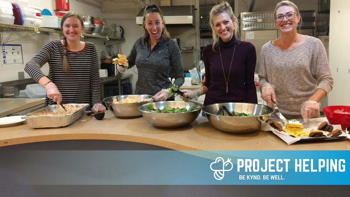 Serve Dinner to Women and Transgender Individuals in Need