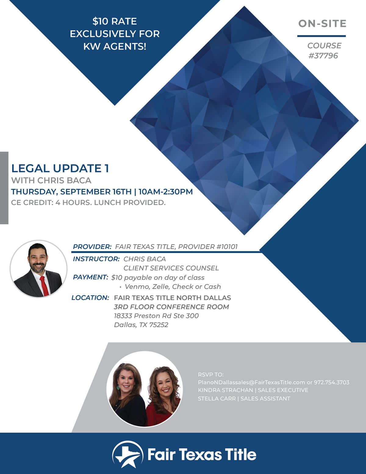 Legal I for Real Estate Agents-Keller Williams DPR Agents