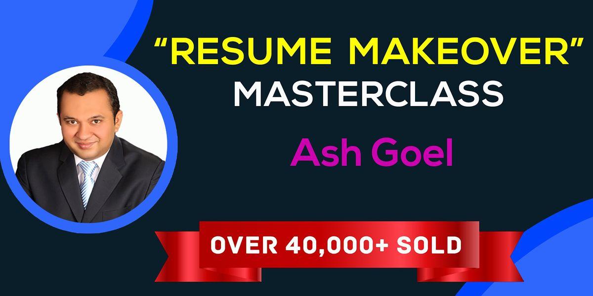 The Resume Makeover Masterclass \u2014 San Francisco
