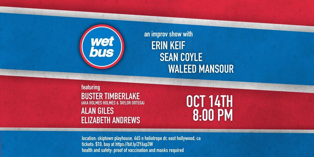 Wet Bus Improv Show