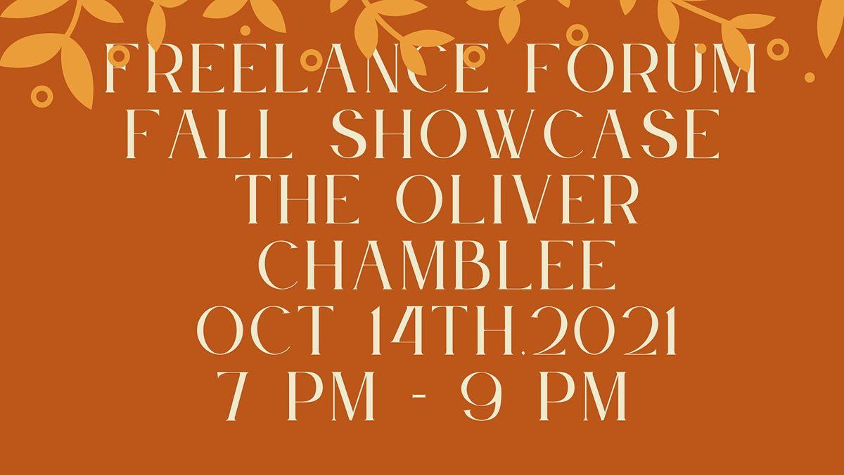 "Freelance Forum "" Fall Showcase"""