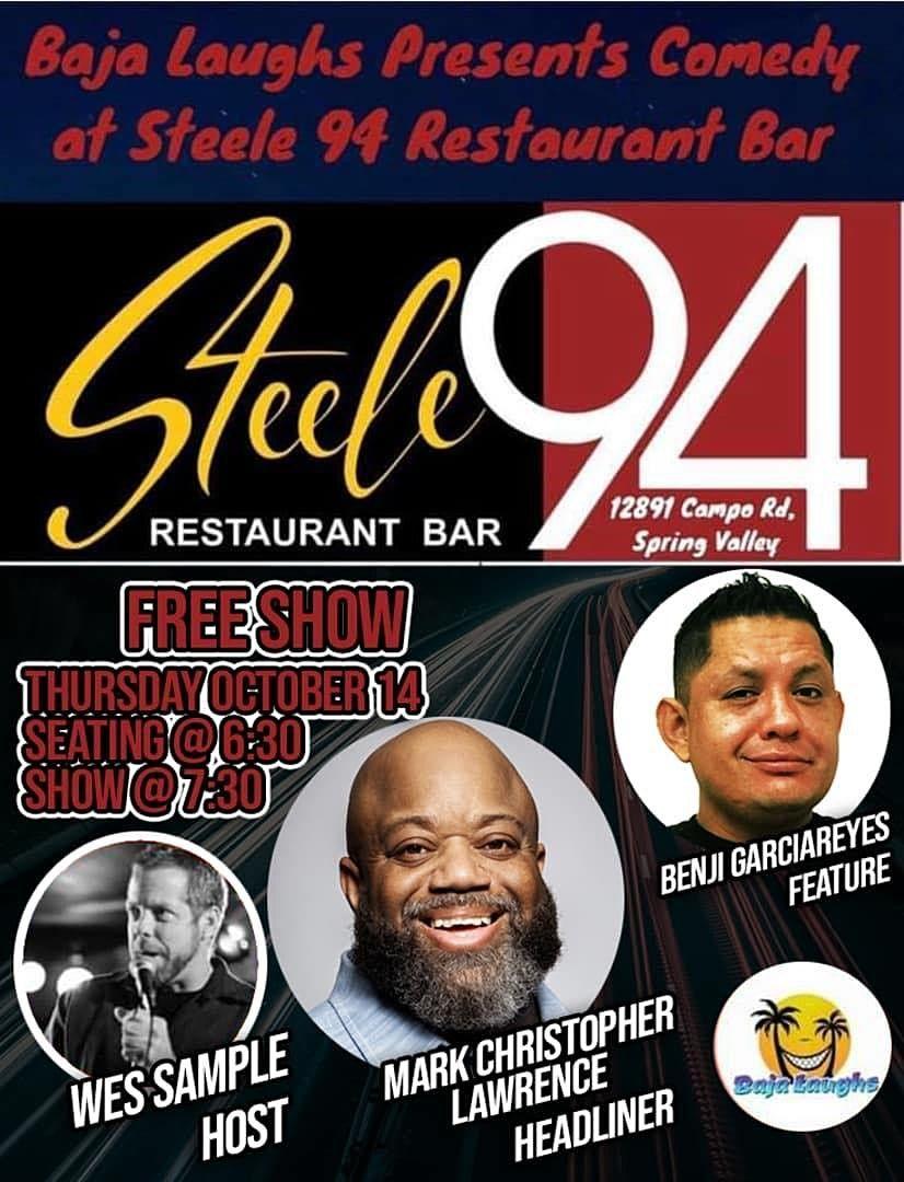 Benji GarciaReyes at Steele 94 Bar & Grill 10\/14 at 7:00 pm