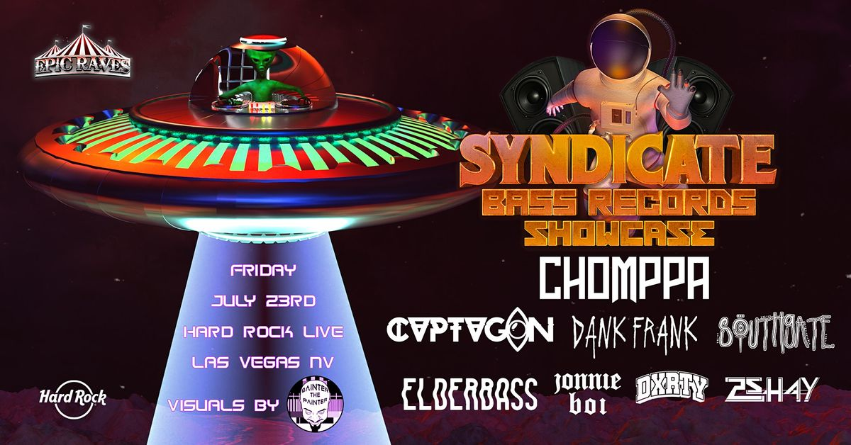Syndicate Bass Records Showcase