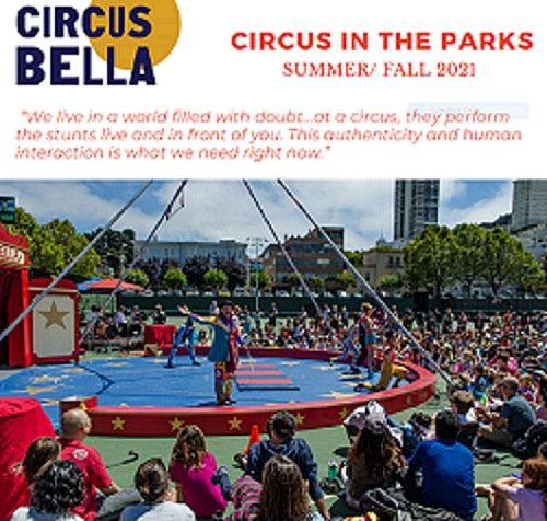 Outdoor Circus featuring Circus Bella