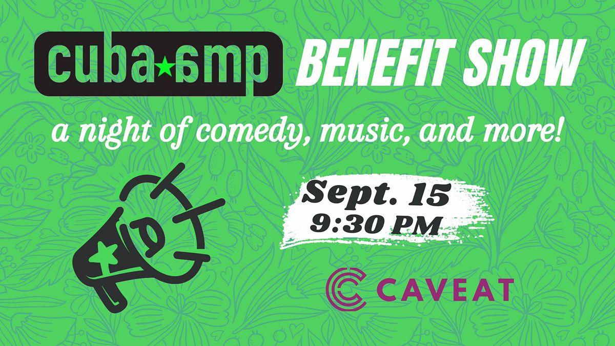 CubaAMP Benefit Show