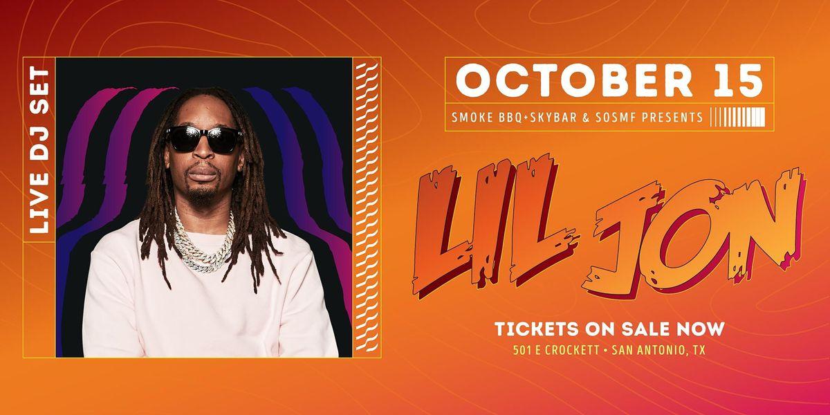 Lil Jon DJ Set Presented x Smoke BBQ + SKYBAR & SOSMF