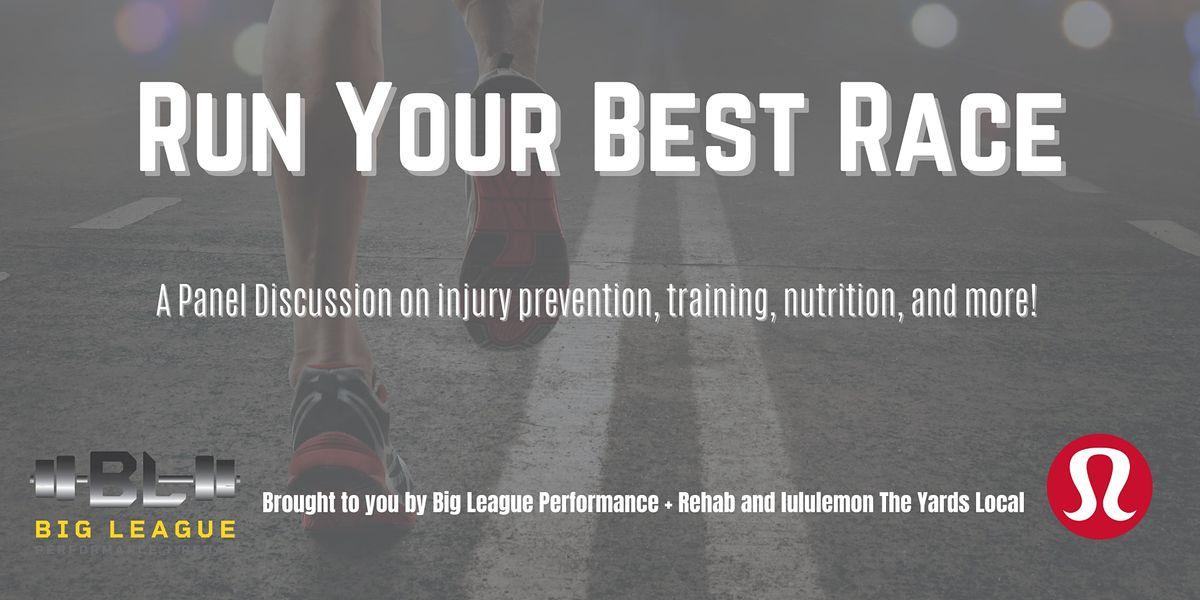 Run Your Best Race