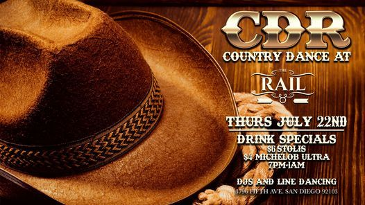 COUNTRY DANCE AT THE RAIL