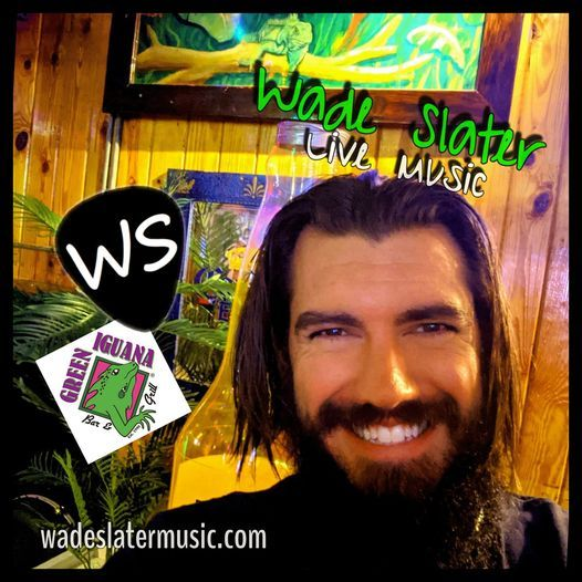 Green Iguana with Wade