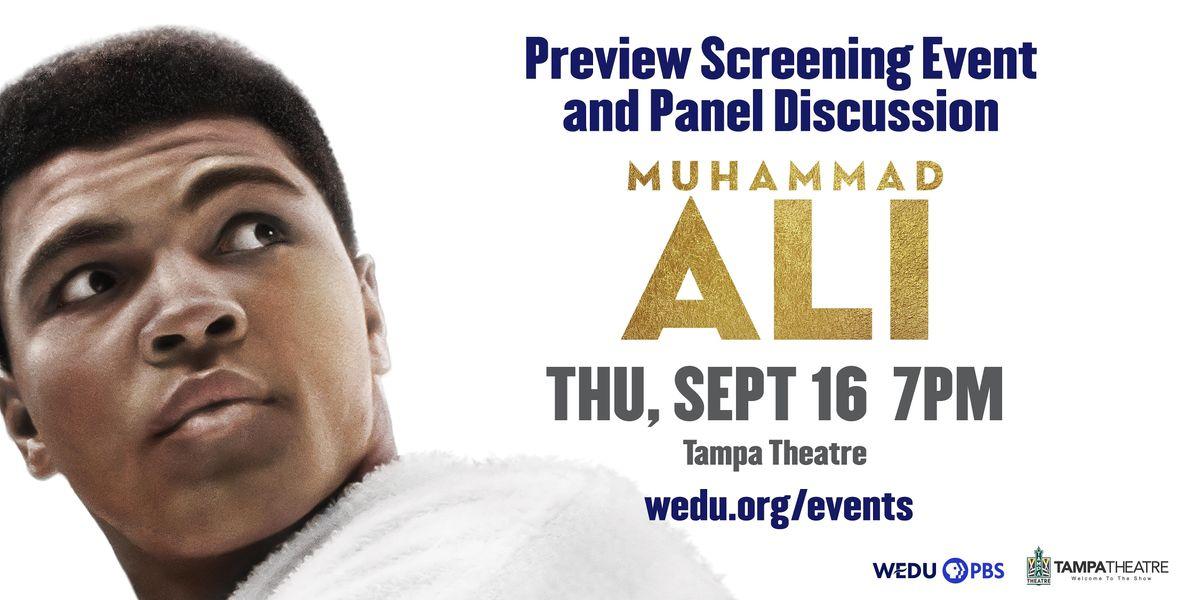 Muhammad Ali Preview Screening