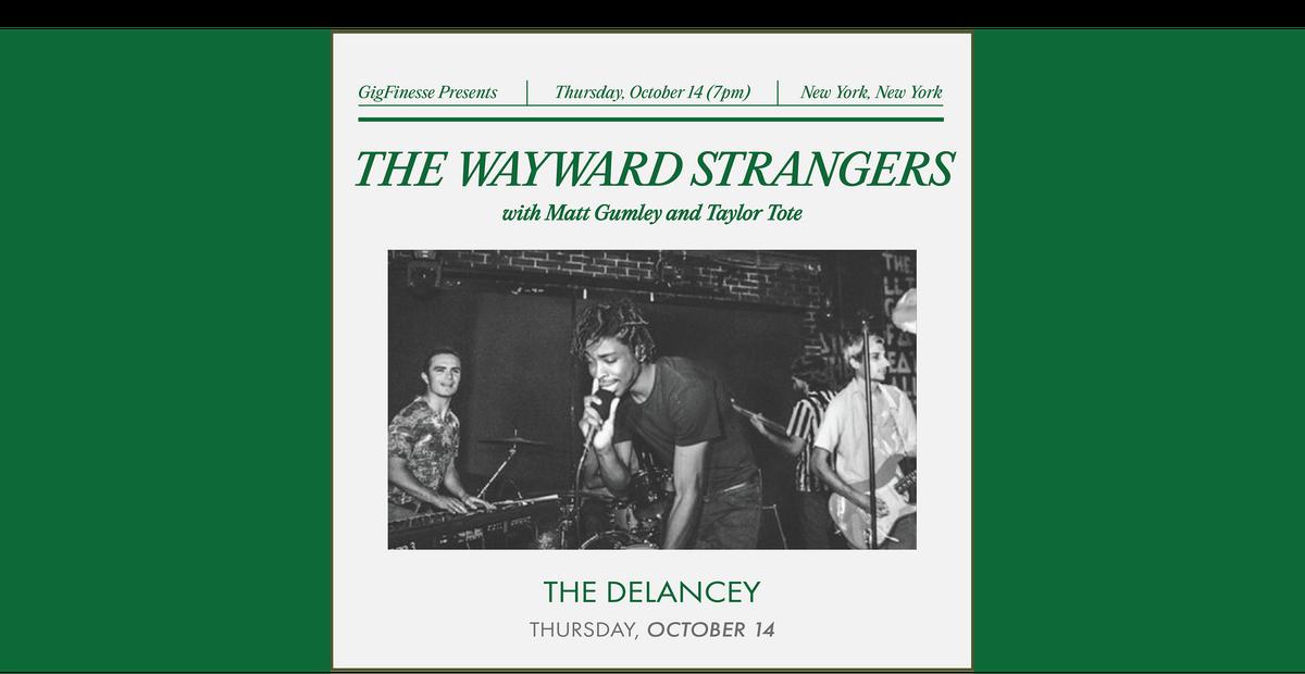 The Wayward Strangers | Matt Gumley | Taylor Tote | Peri El