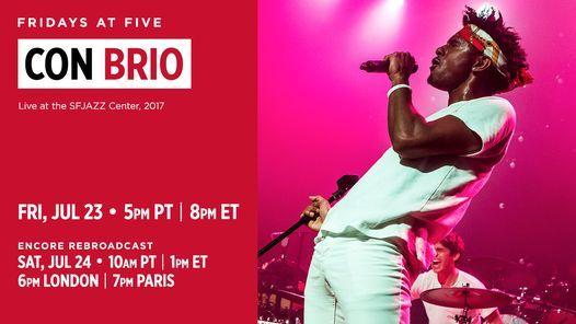 Fridays at Five: Con Brio