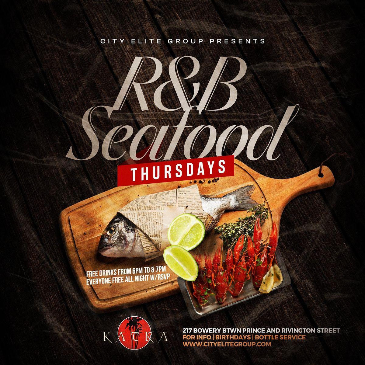#1 R & B Seafood Thursdays At Katra Nyc